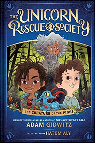 Unicorn Rescue Society Book Cover