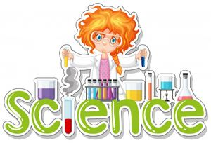 word-science-with-girl-doing-experiment