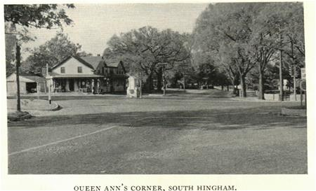 Historic Postcard of Queen Anne's Corner