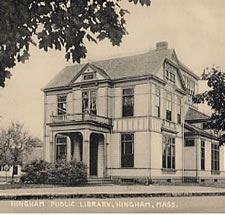Historic photo of Hingham Public Library