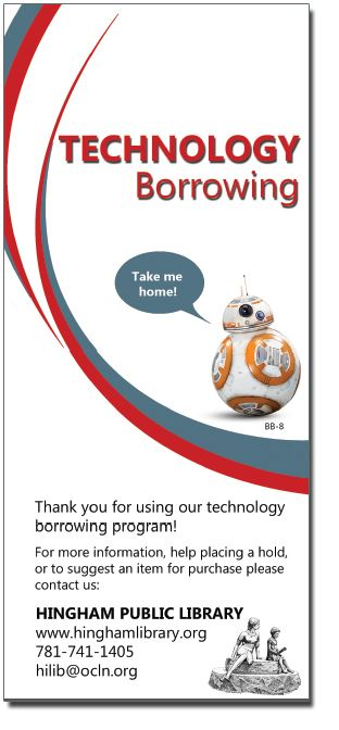 Technology Borrowing Brochure Cover