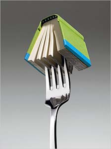 Book on a Fork
