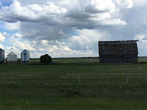 Just Passing through...Saskatchewan 3x4